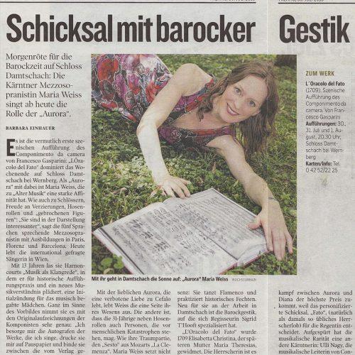 Maria-Weiss-Gasparini-kleine zeitung-interview-alte-musik