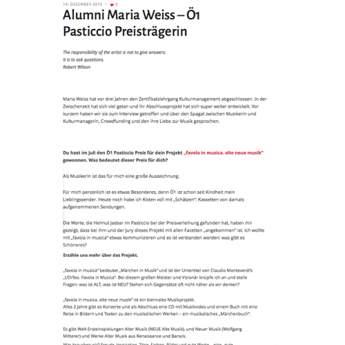 maria weiss mezzo favola kulturkonzepte interview alumni